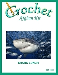 Shark Lunch Crochet Afghan Kit